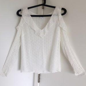 Brand new Club Monaco off shoulder blouse- Size S